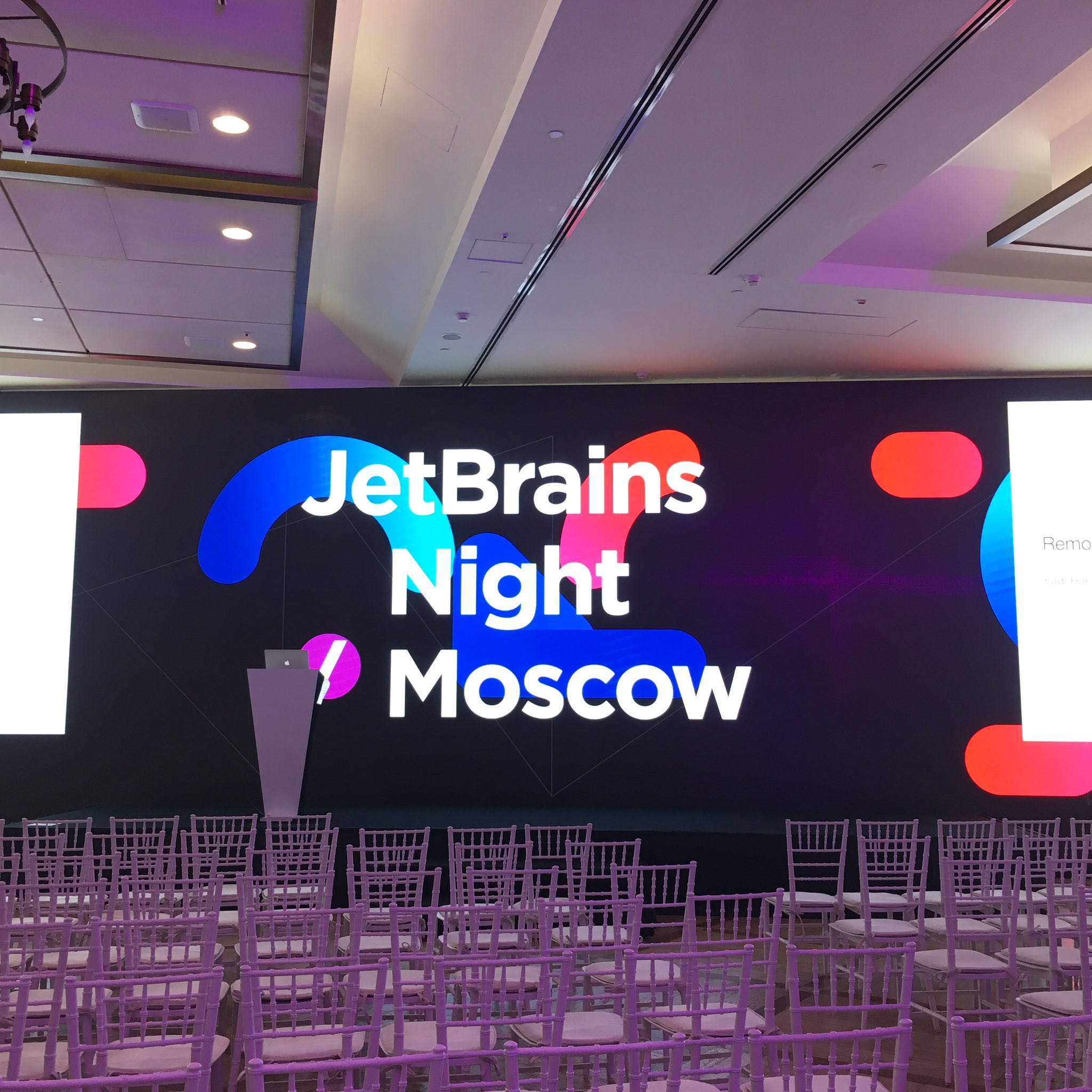 JetBrains Night Moscow 2019